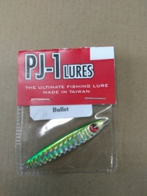 PJ 1 BULLET 12g. color N 1 GREEN