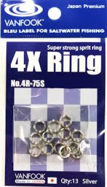 VANFOOK SUPER STRONG SPLIT RING № 3