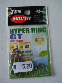 TEN MOUTH HIPER RING GT № 3  43 LB